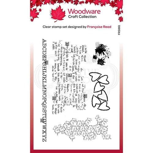 Additions Woodware Clear Stamp (FRS861)